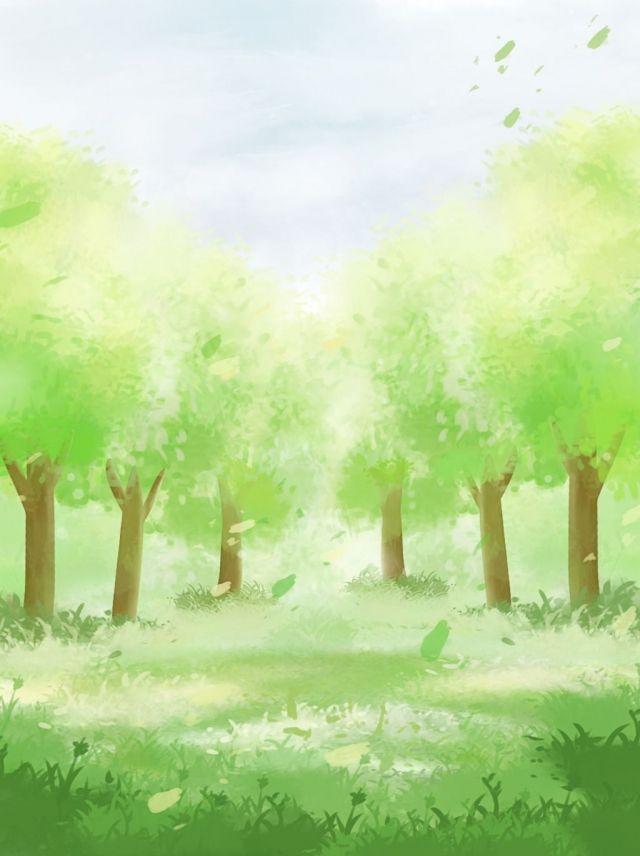 Landscape Park Cartoon