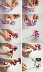 DIY Make Your Own Paper Flowers
