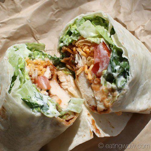 Earl of Sandwich's BBQ Ranch Chicken Wrap