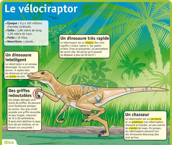 """Dans la série """"Les dinosaures""""."""