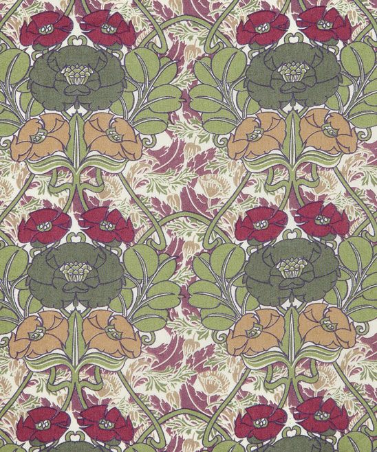 Liberty Art Fabrics Jugendstil D Tana Lawn