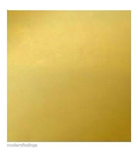 260 Brass Sheet 24 Ga 020 12 X 12 Square Yellow Sheet Metal Crafts Sheet Metal Metal Working