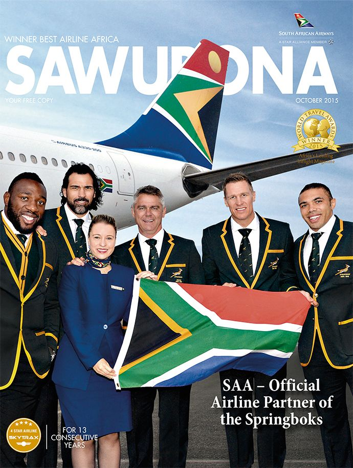 October 2015 cover: SAA
