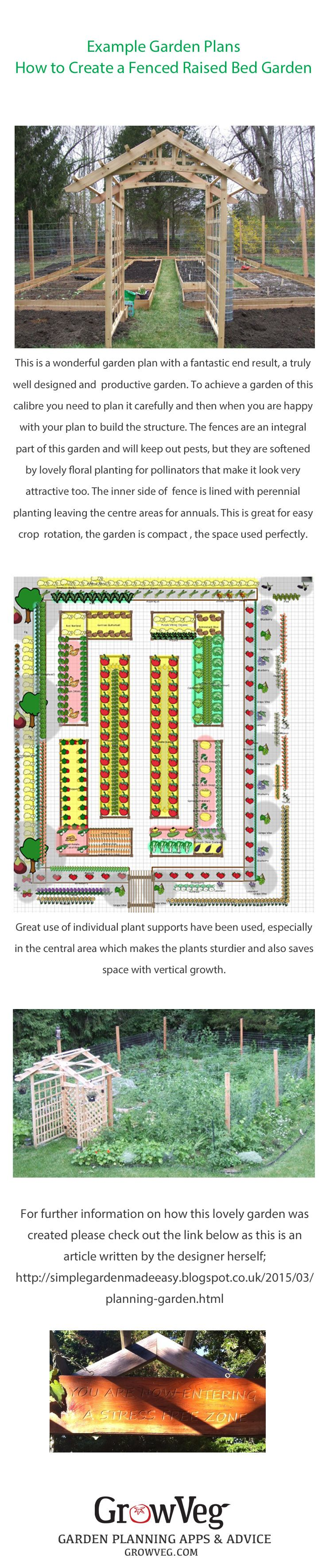 Raised vegetable garden planner - Another Wonderful Garden Planned With The Garden Planner And Generously Shared By One Of Our Customers