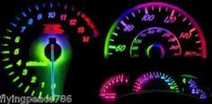 7 COLOR LED LIGHT BULBS FOR CAR DASHBOARD...LUV IT!! (Car Tech Accessories)