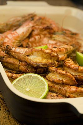 Pan fried Soy & Honey Prawns | Good Food! | Pinterest | Honey, Cooking ...