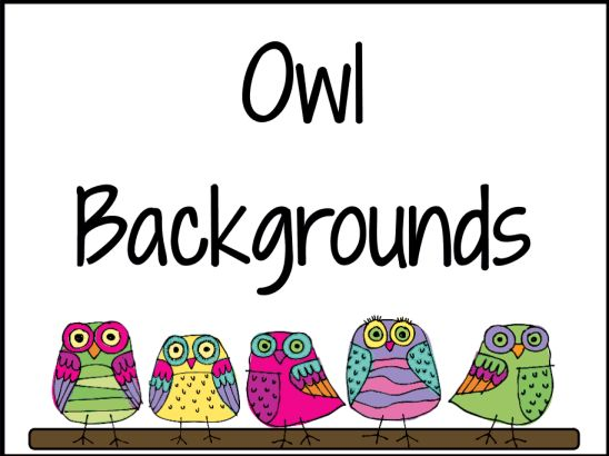 Owl Backgrounds