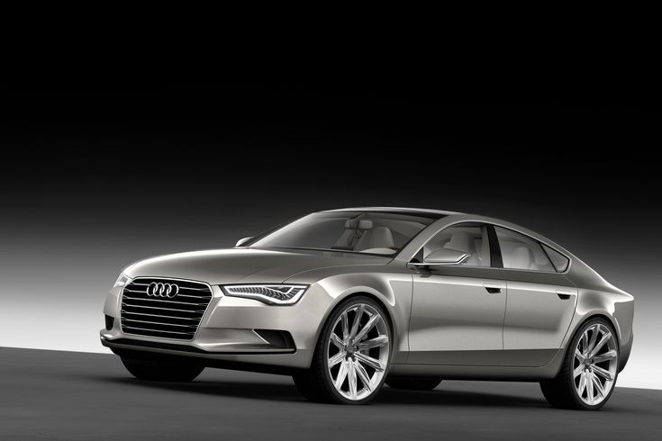 Audi Sportback Concept. I love these cars...so classy and sophisticated