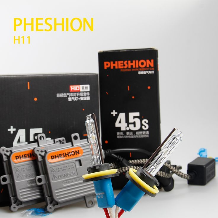 YEAKY&PHESHION 35W HID xenon lamp suits H11 highlighting + 45W xenon lamp ballast combination suite Mazda topped  Head Light