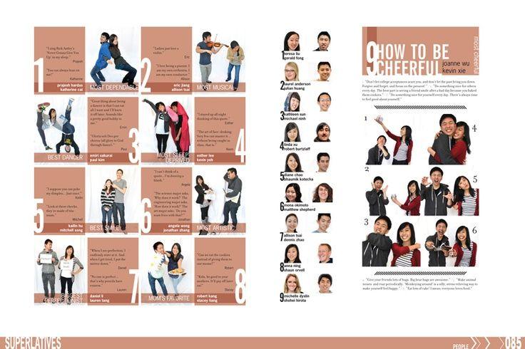 Yearbook Superlative Picture Ideas | Superlative Layout idea from- LYNBROOK HIGH SCHOOL