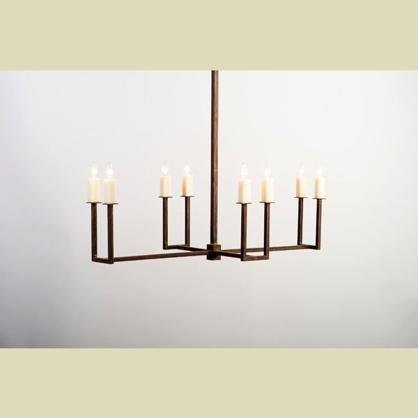 Lowcountry originals lco 104 06 elongated u chandelier for Lowcountry lighting