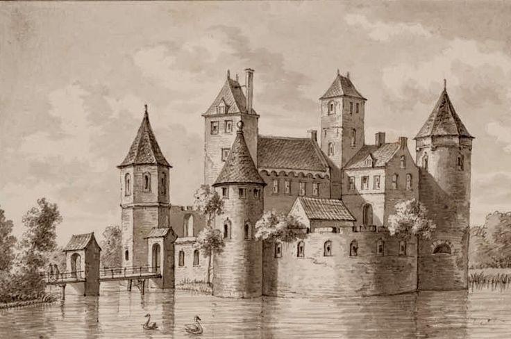 Kasteel Torenburg Alkmaar Het Slot Toorenburg heeft hiel na bij de stad Alkmaar gestaan en is gebouwt in den jaaren 1255 deur Koning Willem Graaf van Holland, om de stad, Daar deur te Beveiligen, tegens den aanval der Westvriesen.