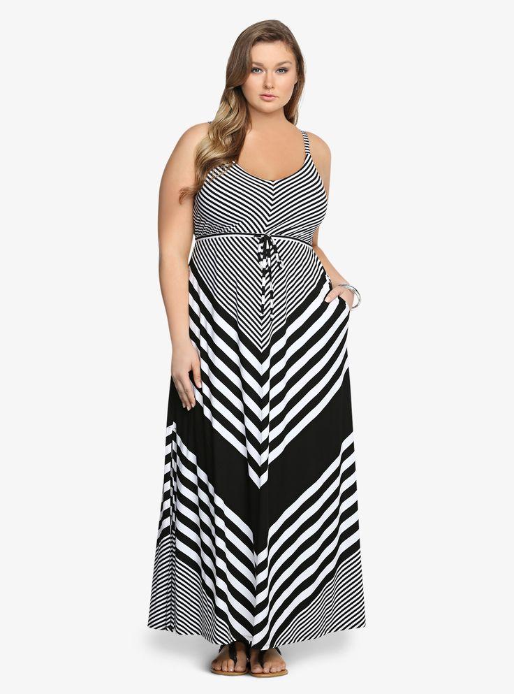 Striped Maxi Dress | Torrid