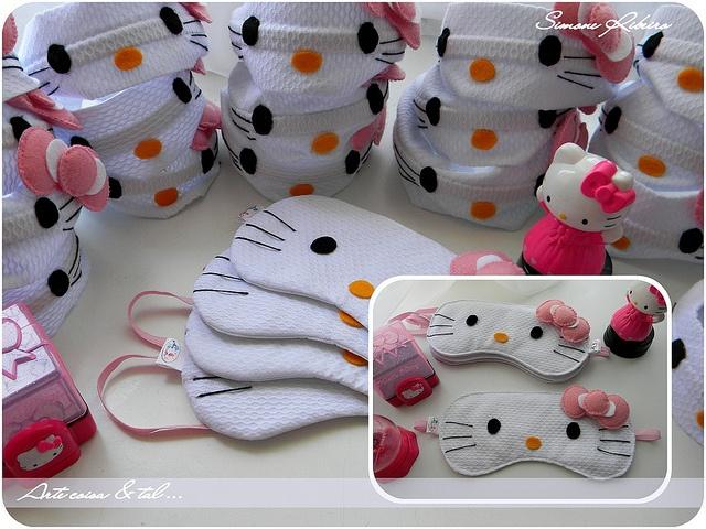 Máscara Hello Kitty