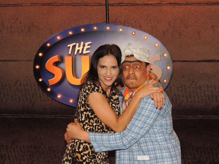 Paola Turbay en The Suso's Show.