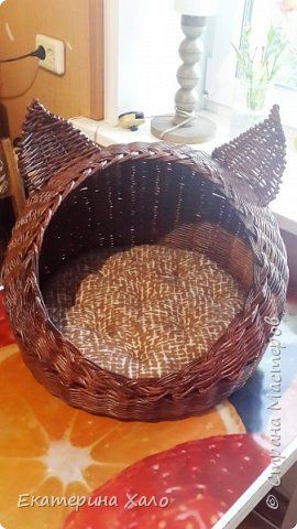 Поделка изделие Плетение Ушастый дом Трубочки бумажные фото 1