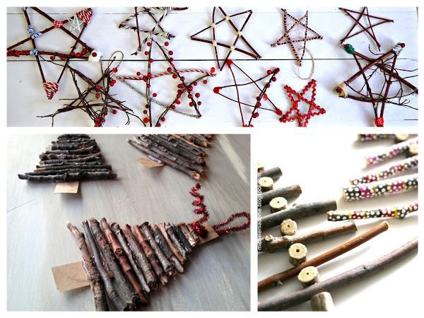10 Natural Ornaments for Kids and you to make this Christmas, take a nature walk and collect some objects then turn these into beautiful decorations for the home that can be used year after year
