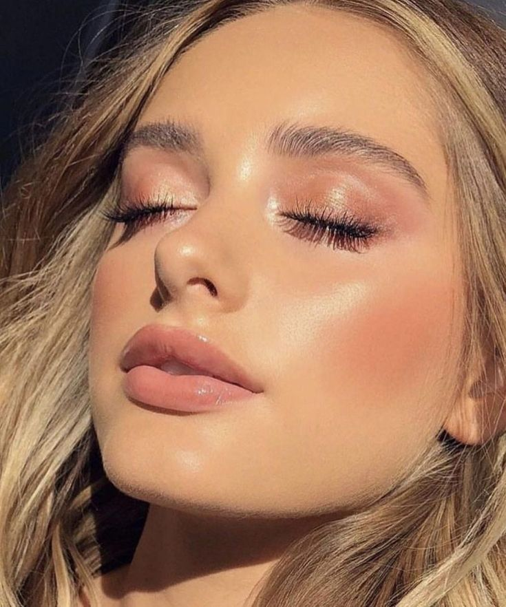 Shimmery And Natural Summer Makeup Best Natural Makeup Natural Summer Makeup Daily Makeup