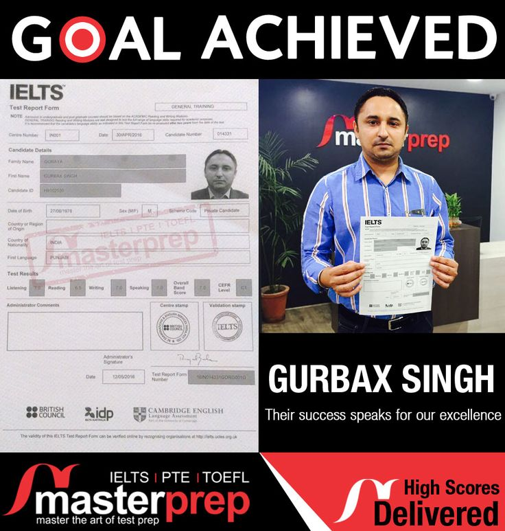 When you are trained by the best faculty; success in #IELTS is the obvious outcome! Meet another successful candidate trained by #MasterPrep team. Even you can script your success story in #English_Proficiency_Tests. Take one FREE session and realise how we train you perfectly. www.masterprep.in