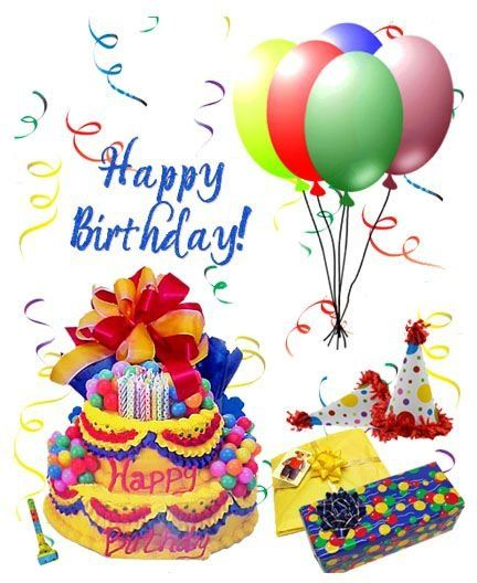Поздравительная открытка по английскому на день рождения