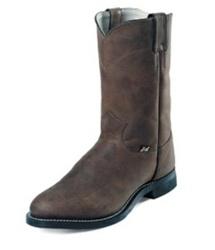 Justin Brands Men's Boots  Crazy Cow Roper Boots