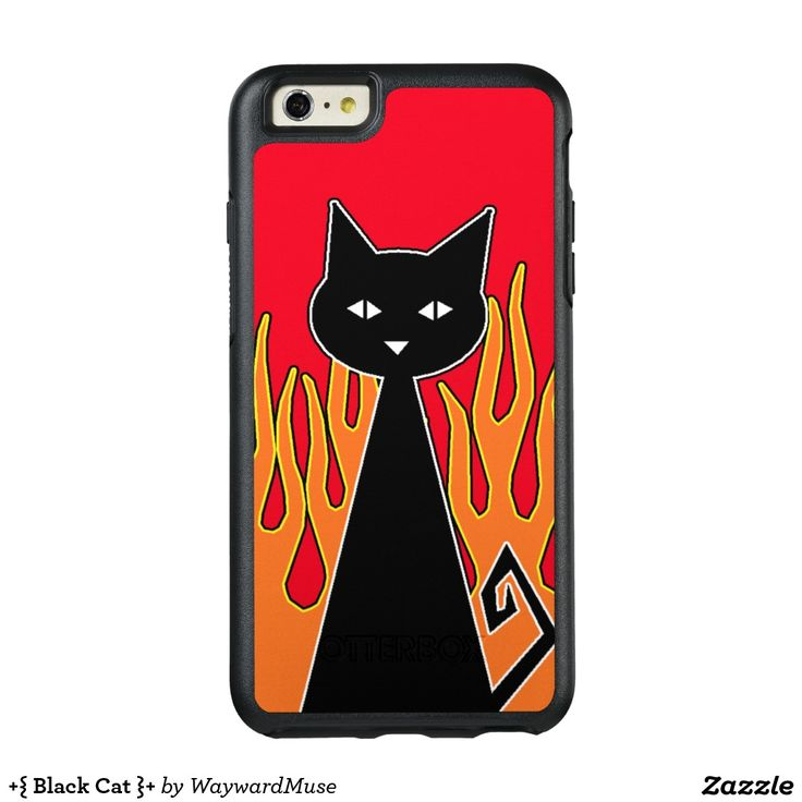 +{ Black Cat }+ OtterBox iPhone 6/6s Plus Case