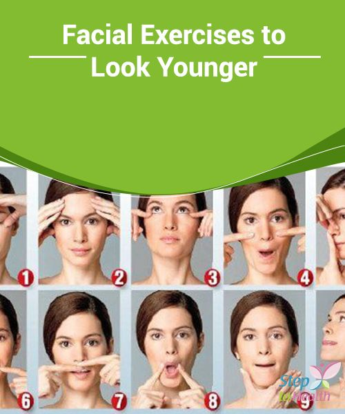 Facial #Exercises to Look Younger Despite the huge number of costly #treatments on the #market, you should definitely be doing #facial exercises to keep your facial #muscles firm.