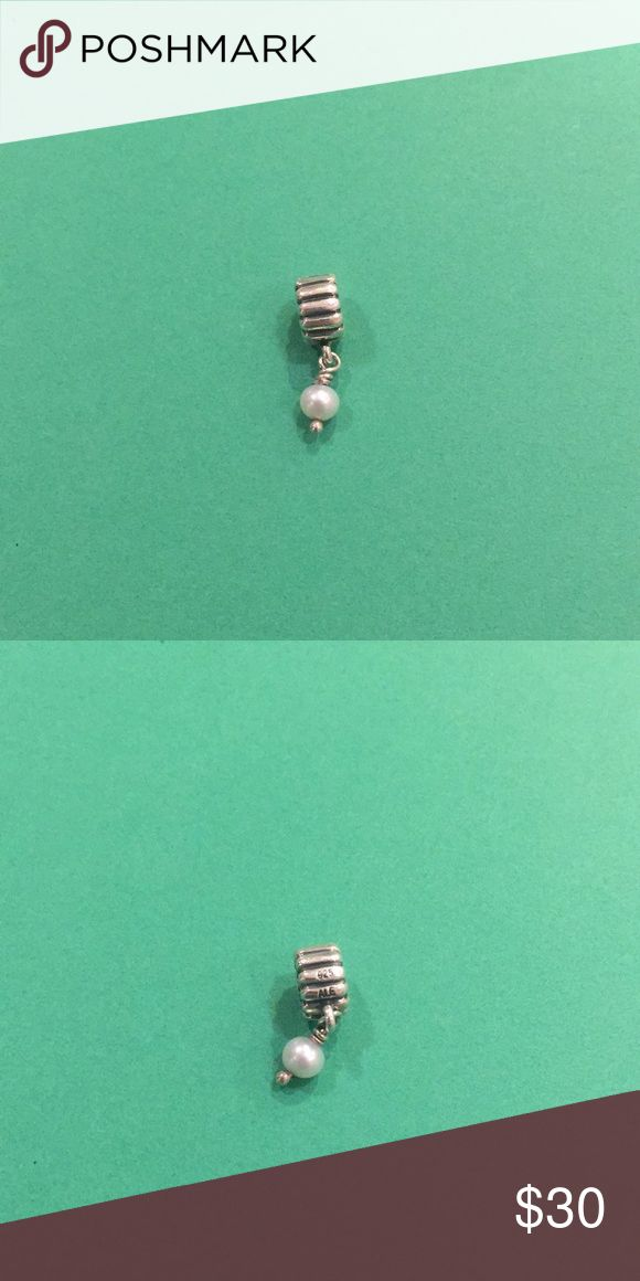 Pandora Birthday Blooms Dangle Charm Pearl June I believe this is June's birth stone but I'm not entirely sure. EUC, Let me know if you have any questions and check out my other items! Pandora Jewelry Bracelets