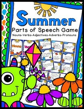 Fun game to practice learning nouns, verbs, adjectives, pronouns, & adverbs. 30 task cards included.30 Sentence Cards5 Parts of Speech Title CardsStudent Instruction CardAnswer KeyA great supplement when teaching the Common Core State Standards.CCSS.ELA.Literacy.L.3.1aEnjoy!CSL...a teacher's helper