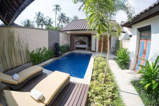 Romantic One Bedroom Villa Private Pool