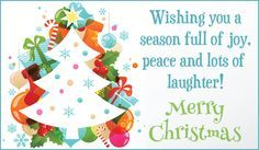 Free Joy, Peace & Laughter eCard - eMail Free Personalized Christmas Cards Online