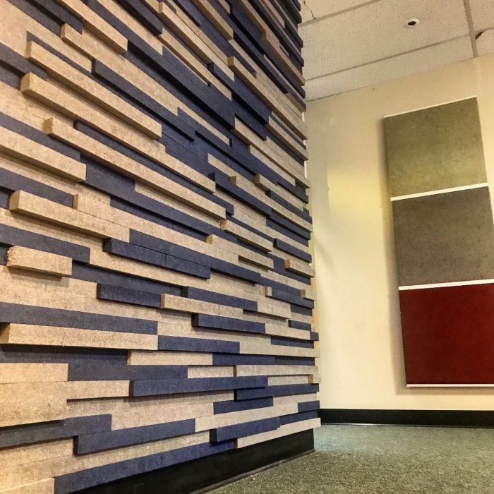 Audimute Strata Acoustic Panels Diy Acoustic Panels Interior Accent Wall
