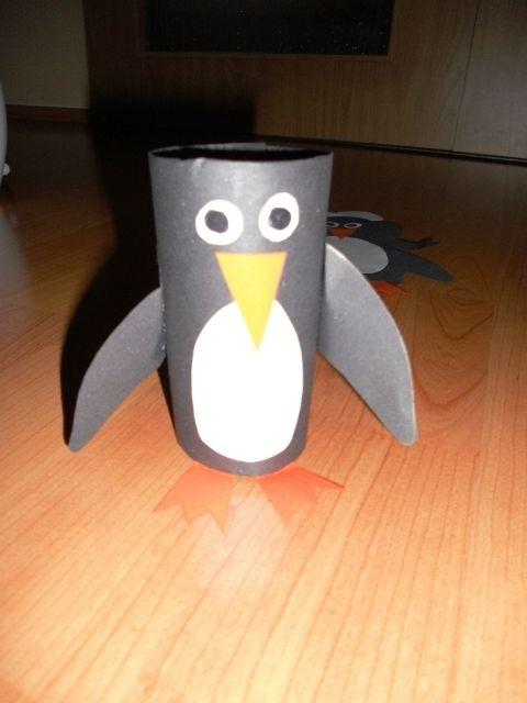 tučňák - rulička od tp