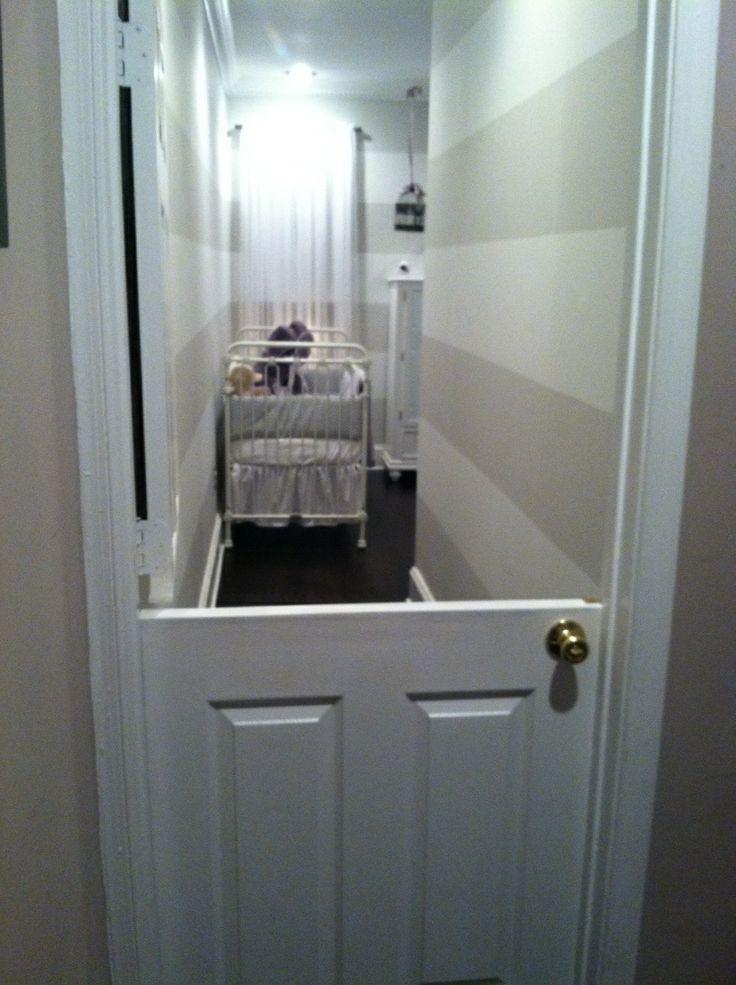 nursery half door & 70 best New home ideas images on Pinterest | Shelves Shelving and ...
