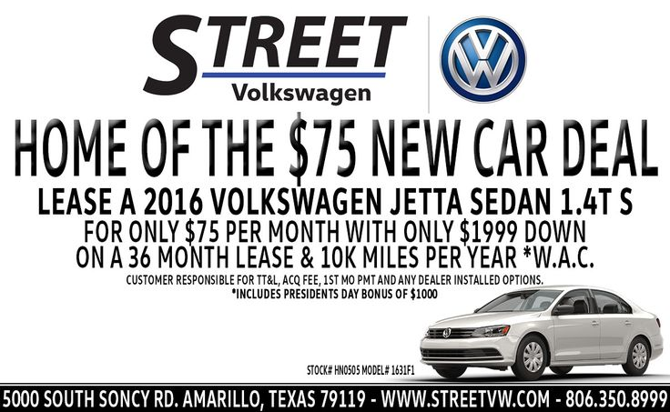 Stop by today and lease this 2016 Volkswagen Jetta Sedan 1