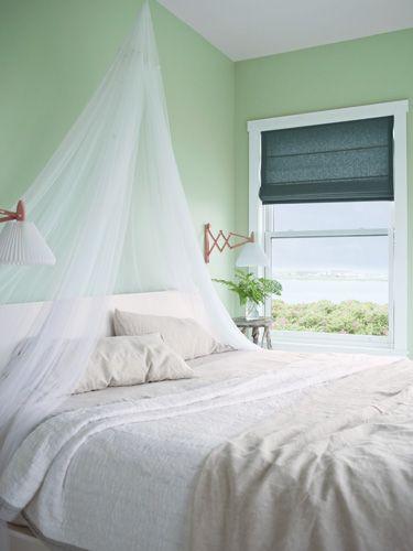 #groen #slaapkamer #green #bedroom
