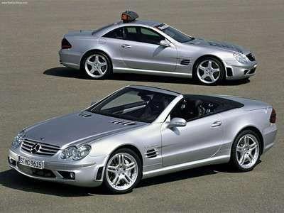 2003 Mercedes Benz SL55 AMG Convertible BMWclassiccars