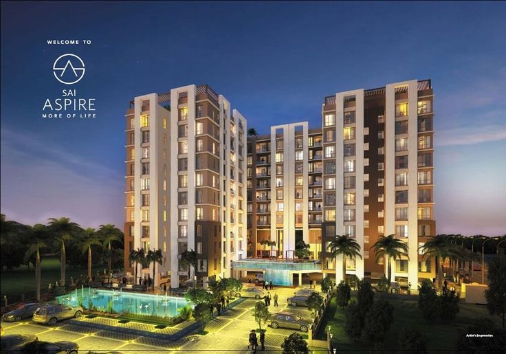 Sai Aspire new upcoming project in Behala. Call 9830272666 for bookings