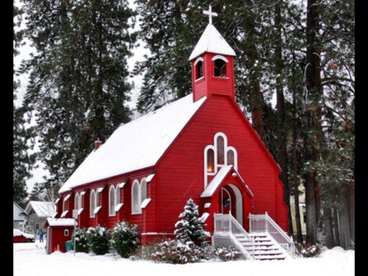 Beautiful church building is a reminder that though our sins be as  scarlet,  they shall be white as snow.