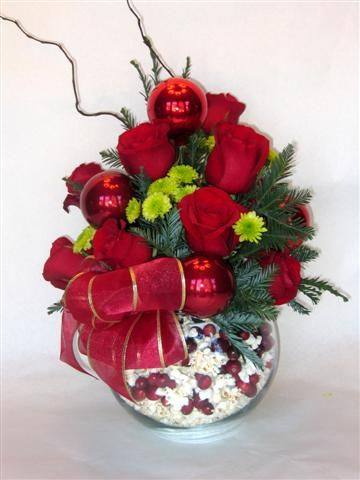Christmas Flower Arrangements | Christmas Holiday Floral Arrangement! | Flickr - Photo Sharing!