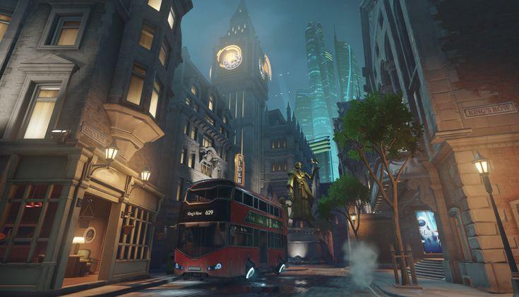 Overwatch. Sci-fi London.