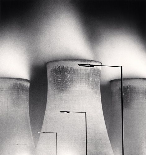 Didcot Power Station, Study 1, Oxfordshire, England, 1989