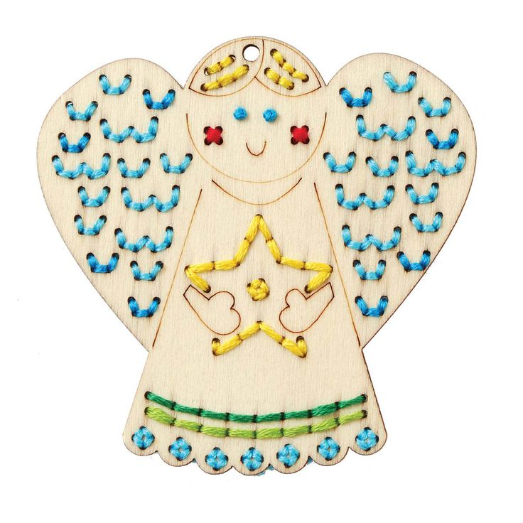 Bucilla ® Seasonal Handmade Charlotte™ Wood Stitchables