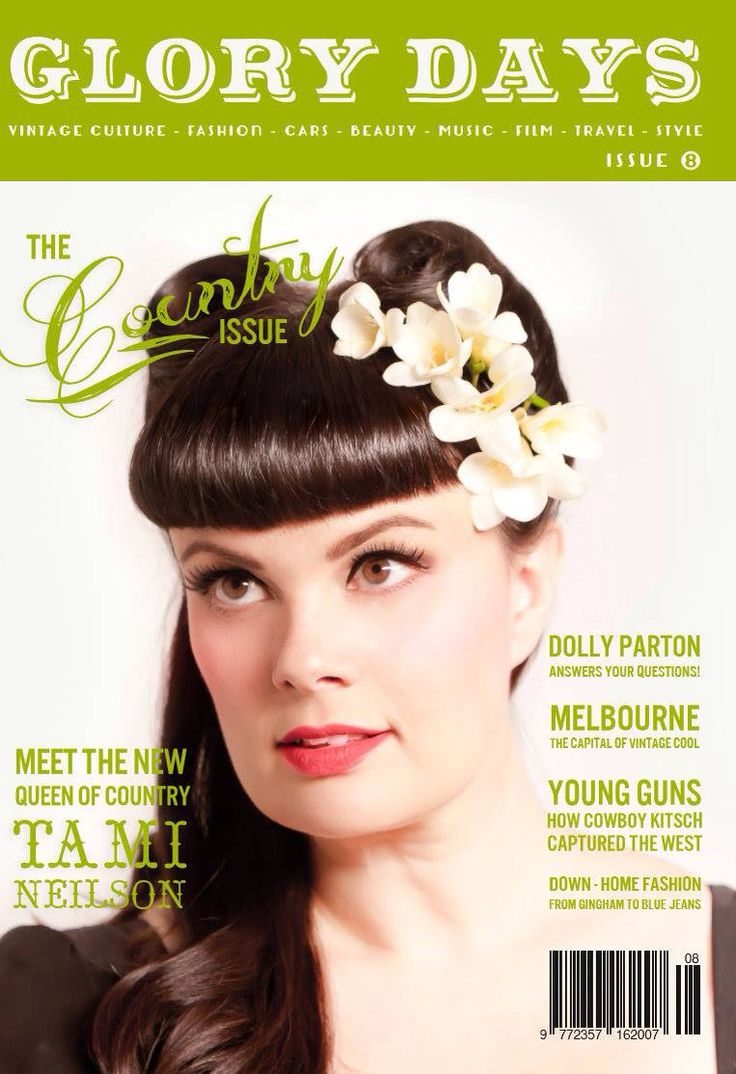 Our beautiful cover star- Tami Nielson, read all about her in Issue 8 #country #vintagestyle