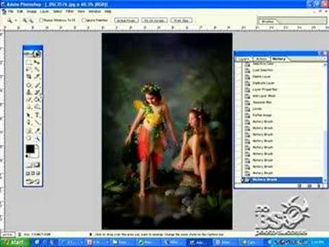 Photoshop Tutorial For Fairy Portraits