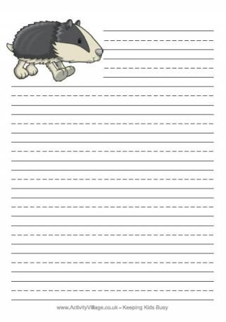 Many cute free printable stationery pages. You can choose blank, lined, or handwriting-lined for each image.