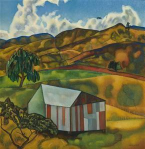 Rita Angus - Taradale, Hawke's Bay -1963-64