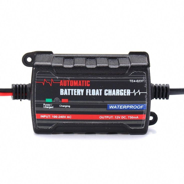 Battery Charger Maintainer Trickle RV Car Truck Motorcycle
