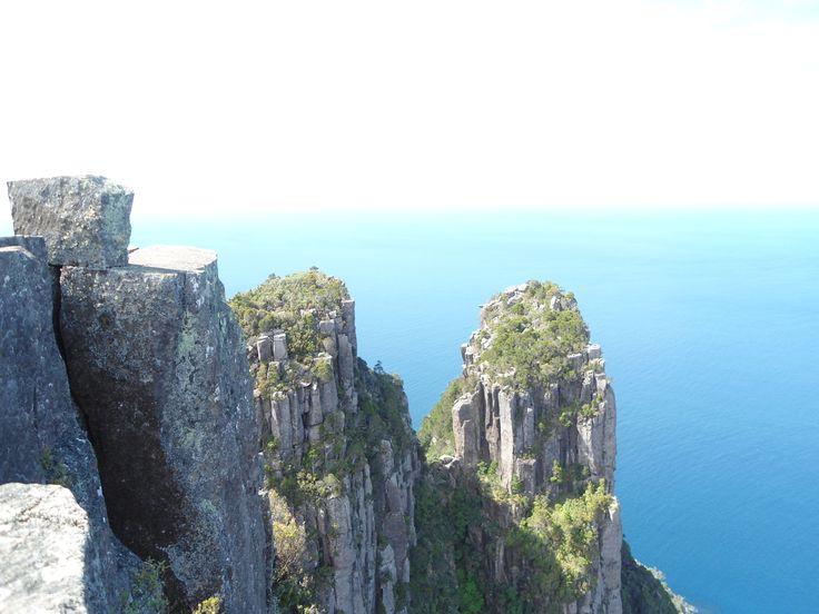 Top of Bishop & Clark, Maria Island, Tasmania