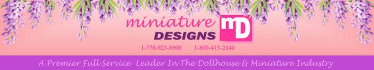 Miniature Designs dollhouse miniatures- in Lawrenceville, Georgia!